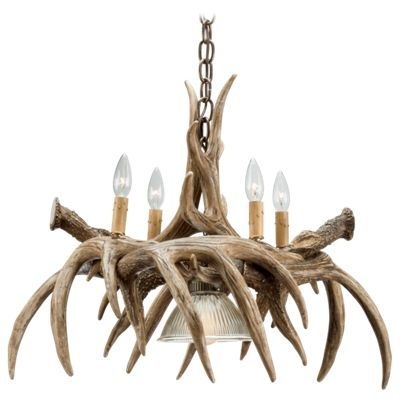 Cast Horn Designs Whitetail Antler Chandelier by