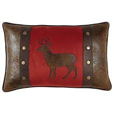 Bob Timberlake Hearthside Buck Oblong Throw Pillow