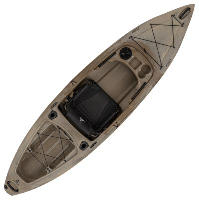 Click here to buy Ascend FS10 Sit-In Angler Kayak - Desert Storm.