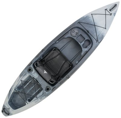 Ascend FS10 Sit-In Angler Kayak - Titanium by