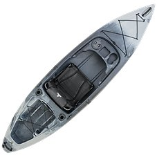 Ascend FS10 Sit-In Angler Kayak - Titanium