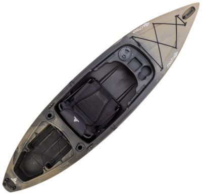Ascend fs10 sit in angler camo kayak bass pro shops for Bass pro fishing kayak