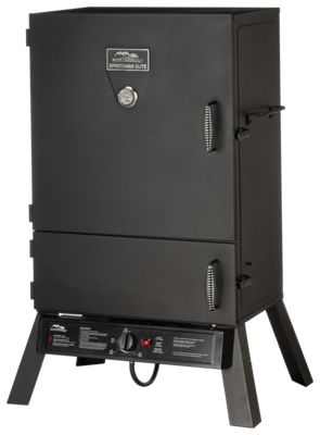 ... name \u0027Masterbuilt Sportsman Elite 40\u0027\u0027 Extra Wide Two-Door Propane Smoker\u0027 image \u0027//basspro.scene7.com/is/image/BassPro/2150387_1408211437_is\u0027 ...  sc 1 st  Bass Pro Shops : smoker door - pezcame.com