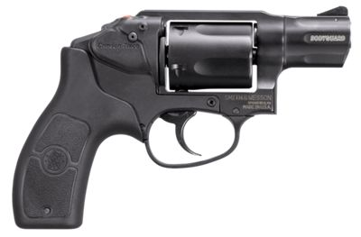 Smith & Wesson M&P Bodyguard Double-Action Revolver with Crimson Trace Laser Sight by