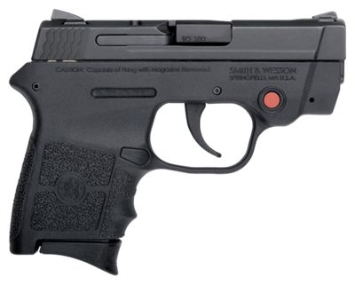 Smith & Wesson M&P Bodyguard Semi-Auto Pistol with Crimson Trace Sight