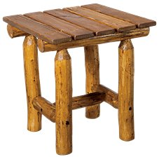 Mountain Time Chairs Log Cocktail Table