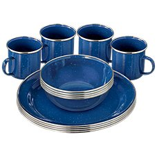Bass Pro Shops 12-Piece Enamelware Table Set