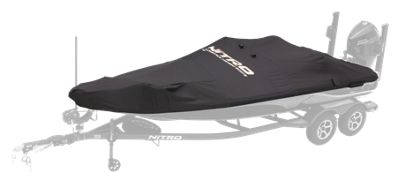 Bass Pro Shops NITRO Factory Fit Boat Covers by Dowco - ZV 21 WT - Minnkota Trolling Motor