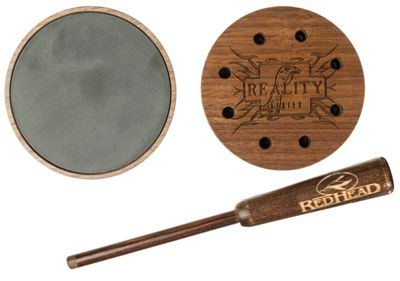 RedHead Reality Series Deluxe Pot Friction Turkey Call - Slate
