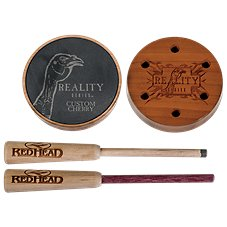 RedHead Reality Series Custom Cherry Slate Friction Turkey Call