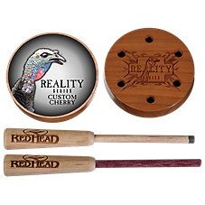 RedHead Reality Series Custom Cherry Glass Friction Turkey Call