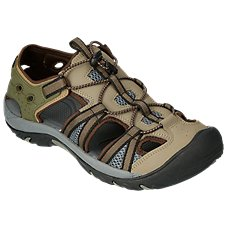 World Wide Sportsman Oasis III Water Shoes for Men - Brown/Black
