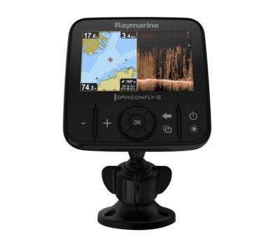 Raymarine dragonfly 5 pro fishfinder gps chartplotter for Bass pro shop fish finders