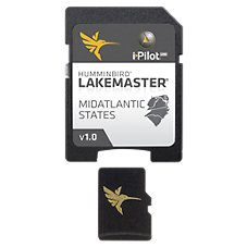 Humminbird LakeMaster Micro SD Card Digital GPS Map