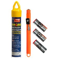 Orion Safety Pocket Rocket 4 Aerial Signal Kit Pyro Signals Kits with 2