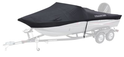 Bass Pro Shops TRACKER V Hull Boat Cover by Dowco Black