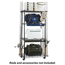 Organized Fishing Heavy-Duty Shelving System