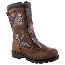 RedHead Bayou Waterproof Side-Zip Snake Hunting Boots for Kids