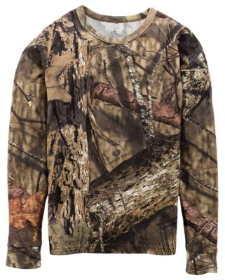 RedHead True Fit Camo Long-Sleeve T-Shirt for Youth by