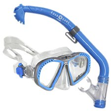 Aqua Lung Sport Zipper PC Snorkel and Mask Combo for Kids