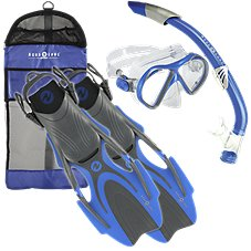 Aqua Lung Sport Maverick Adult Snorkel Set for Men