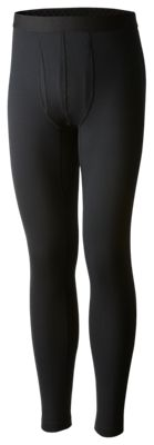 Columbia Heavyweight II Stretch Base Layer Tights for Men – Black – XL