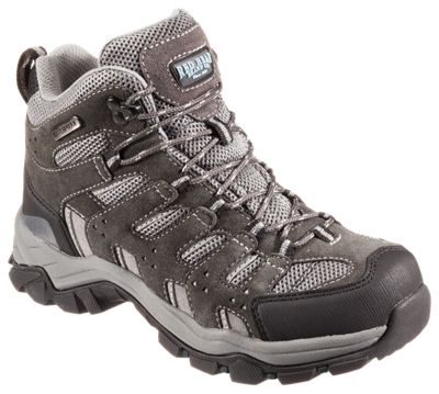 Image of RedHead Overland Mid Waterproof Hiking Boots for Ladies - Charcoal/Gray - 10 M