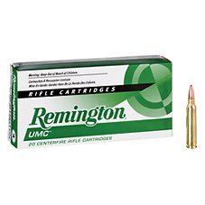 Remington UMC Centerfire Rifle Ammo