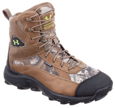 Under Armour Speed Freek Bozeman 600 Insulated Waterproof Hunting Boots for Men – 8 M