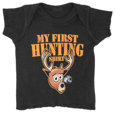 Bass Pro Shops My First Hunting Shirt for Baby Boys – Black – 6 Months