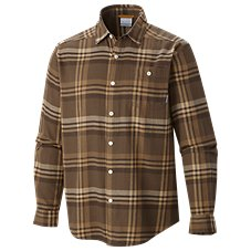 Columbia Cornell Woods Long-Sleeve Flannel Shirt for Men Image