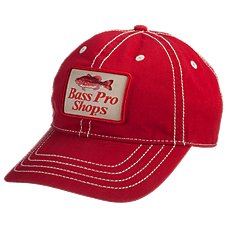 5b3fa7c9 Bass Pro Shops Outdoor Athletic Stitched Cap