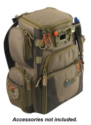 Wild River Tackle Tek Recon Lighted Compact Backpack - Khaki