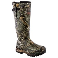 RedHead Guide Insulated Side-Zip Camo Rubber Boots for Men
