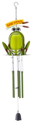 Sunset Vista Designs Happy Frog Wind Chime