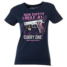 Bass Pro Shops Gun Rule #1 T-Shirt for Ladies