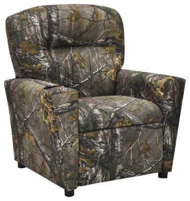 Kidz World Camo Recliners For Kids