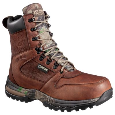 84545089c47b3 RedHead Tracker 8'' Leather GORE-TEX Insulated Hunting Boots for Men ...