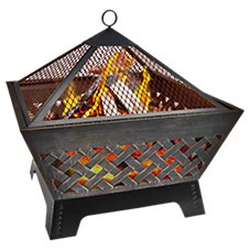 Landmann USA Barrone Outdoor Fire Pit with Cover