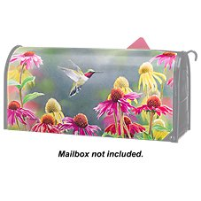 Studio M MailWraps Magnetic Mailbox Cover - Hummingbird Heaven by S.D. Bourdet