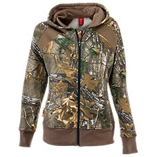 SHE Outdoor Vintage Full-Zip Hoodie for Ladies