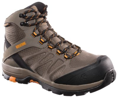 c49bb2a528e Wolverine Fletcher Mid Waterproof Safety Toe Work Boots for Men 12 ...