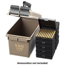 MTM Case-Gard 9mm Ammo Can Combo