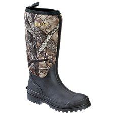 RedHead Camo Utility Waterproof Rubber Boots for Men