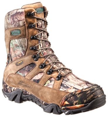 Wolverine Extreme Country GORE-TEX Insulated Hunting Boots for Men – Brown/Mossy Oak Break-Up Country – 10.5 M