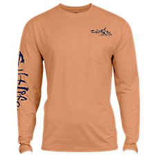 851f508796ef Salt Life Captain SLX UVapor Pocket Long-Sleeve T-Shirt of Men