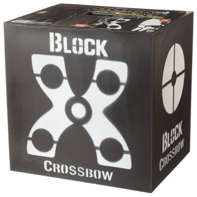 Field Logic The Block Black Crossbow Target by