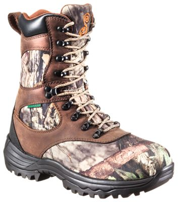SHE Outdoor Expedition Ultra BONE-DRY Insulated Waterproof Hunting Boots for Ladies – Brown/Mossy Oak Break-Up Country – 10 M