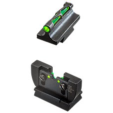 HiViz LITEWAVE Front and Rear Sights for Ruger 10/22 Rifle