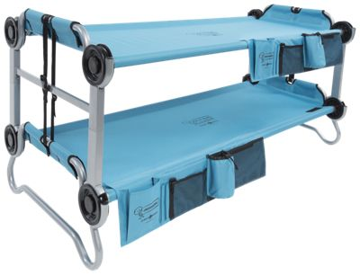 Disc-O-Bed Kid-O-Bunk Bed with Organizers